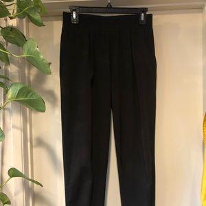 black high waisted dress pants